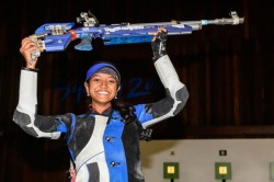 Elavenil Wins Gold India Bag 10m Air Rifle Team Gold With World Record