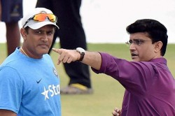 Kohli Has Right To Say Who He Wants As Coach Sourav Ganguly