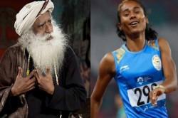 Sadhguru Jaggi Vasudev Slips To Controversy With Tweet On Ace Sprinter Hima Das