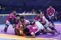 Pro Kabaddi League 2019 Jaipur Pink Panthers Beat U Mumba By 42