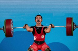 Commonwealth Championships Lifter Jeremy Smashes Youth World Record