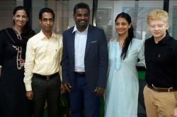 Spin Legend Muthaiah Murulidharan Visited Puttur
