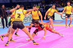 Pro Kabaddi 2019 Telugu Titans Vs U Mumba Match Update