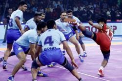 Pro Kabaddi 2019 Bengaluru Bulls Beat Tamil Thalaivas