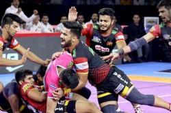 Pro Kabaddi 2019 Bengaluru Bulls Defeats Jaipur Pink Panthes