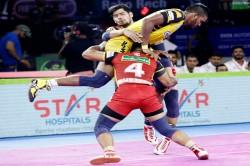 Pro Kabaddi 2019 Bengaluru Bulls Beat Telugu Titans By 47