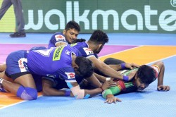 Pro Kabaddi 2019 Bengaluru Bulls Lost To Haryana Steelers By 30