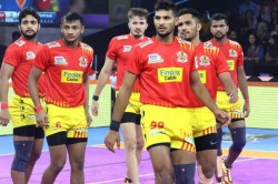 Pro Kabaddi 2019 Gujarat Fortune Giants Beat Dabang Delhi