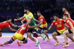 Pro Kabaddi 2019 Gujarat Fortunegiants Beat Patna Pirates