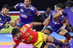 Pro Kabaddi 2019 Haryana Steelers Beat Gujarat Fortunegiants