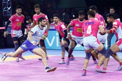 Pro Kabaddi 2019 Pink Panthers Beat Tamil Thalaivas By 28