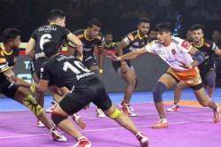 Pro Kabaddi 2019 Puneri Paltan Beat Telugu Titans