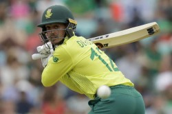 De Kock To Captain Proteas In T20i Series Against India