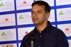 Rahul Dravid Replaced As India A India U 19 Coach