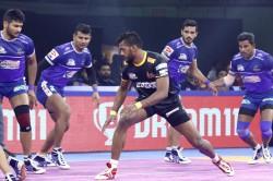 Pro Kabaddi 2019 Telugu Titans Beat Haryana Steelers By 40