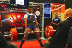 Vishwanath Of Kundapur Set New Record Of Powerlifting In Commonwealth Championship