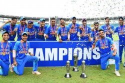 U 19 Asia Cup Final India Beat Bangladesh By Five Runs To Lift Seventh Title