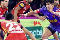 Pro Kabaddi 2019 Dabang Delhi Bengaluru Bulls Match Tie