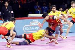 Pro Kabaddi 2019 Gujarat Fortunegiants Beat Bengaluru Bulls