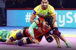 Pro Kabaddi 2019 Bengaluru Bulls Beat Patna Pirates In Thriller Match