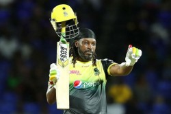 Cpl 2019 Chris Gayle S 62 Ball 116 In Vain As Patriots Won By 4 Wkts