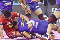 Pro Kabaddi 2019 Haryana Steelers Thumps Dabang Delhi