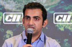 Chargesheet Against Gautam Gambhir Others In Cheating Case