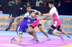 Pro Kabaddi 2019 Jaipur Pink Panthers Vs Haryana Steelers Match Draw