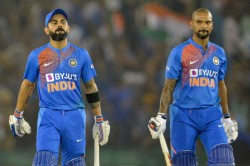 Virat Kohli Shikhar Dhawan Move Up In Icc T20i Rankings