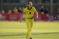 Australia S Megan Schutt Scripts History With Maiden Odi Hat Trick
