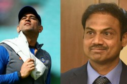 On Ms Dhoni S Retirement Rumours Chief Selector Msk Prasad Breaks His Silence