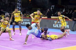 Pkl 2019 Telugu Titans Beat Tamil Thalaivas 35