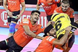 Pro Kabaddi 2019 Mumba Thrash Telugu Titans 41