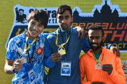 Bengaluru Marathon Bijay And Lakshmi Were The Fastest Man And Woman