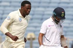 India Vs South Africa Aggressive Kagiso Rabada Reaps His Reward