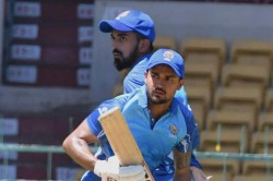 Vijay Hazare Trophy Karnataka Beat Saurashtra By 8 Wickets