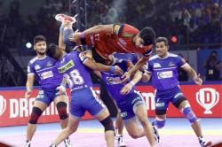 Pro Kabaddi 2019 Bengaluru Bulls Beat Haryana Steelers