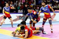 Pro Kabaddi 2019 Up Yoddha Beat Bengaluru Bulls