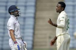 Virat Kohli Gives Priceless Reaction After Kagiso Rabada S Sloppy Fielding