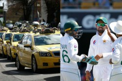 Indian Taxi Driver Refuses To Take Money Treated To Dinner By Pakistan Cricketers