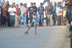 Hubballi Skater Ojal Writes Herself Into The Guinness World Record
