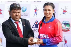 Wickets 0 Runs Nepal Bowler Anjali Chand Scripts History In Women T20i International
