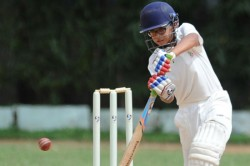 Rahul Dravid S Son Samit Scores Double Ton In U14 Cricket