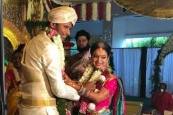 Karnataka All Rounder Krishnappa Gowtham And Archana Sundar Got Married