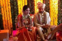 India Cricketer Manish Pandey Gets Married To Actress Ashrita Shetty In Mumbai