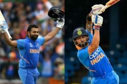 Virat Kohli Rohit Sharma End 2019 At Top Of Icc Odi Rankings