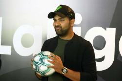 La Liga Names Rohit Sharma As Brand Ambassador
