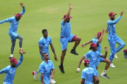 st T20i Overcast Conditions Greet West Indies
