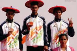 Khelo India Akhilesh From Karnataka Win Gold In Triple Jump