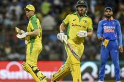 India Vs Australia David Warner Aaron Finch Script New Record